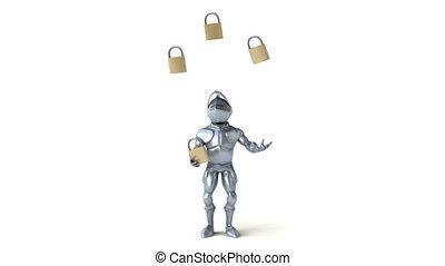 Fun knight - 3D Animation