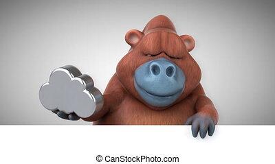 Fun orang-outan - 3D Animation