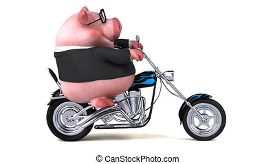 Fun pig - 3D Animation