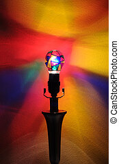 Fun Rainbow Party Lightbulb