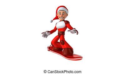 Fun Santa Claus - 3D Animation