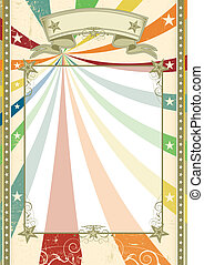 Fun scratched vintage background - a cream color whith a ...