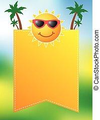 Fun summer poster design