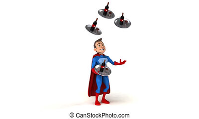 Fun superhero - 3D Animation