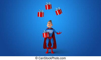 Fun superhero - 3D Animation
