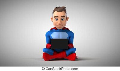 Fun superhero coding - 3D Animation