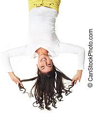 Fun upside down