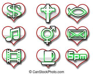 Fun Web Icons