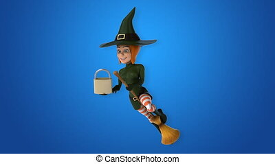 Fun witch - 3D Animation