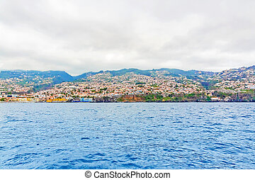 Funchal, Madeira - offshore view
