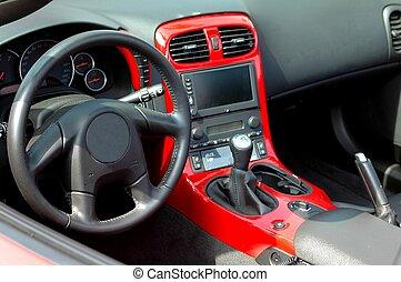 función de automóvil