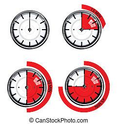 función, reloj