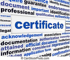 funcionario, documento, certificado