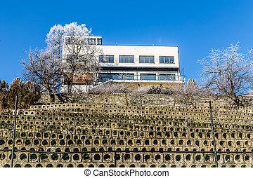 Functional Building - Barrandov, Prague, Czech Rep.