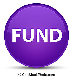Fund special purple round button