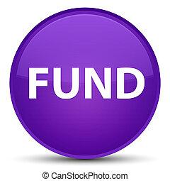 Fund special purple round button