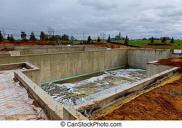 fundación, construcción, nuevos hogares