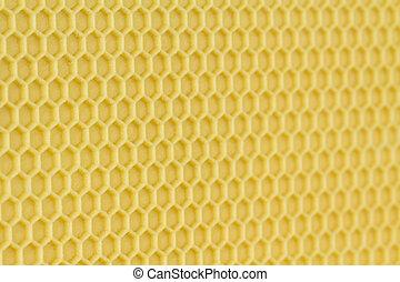 fundación, mantener, peine, plano de fondo, abeja