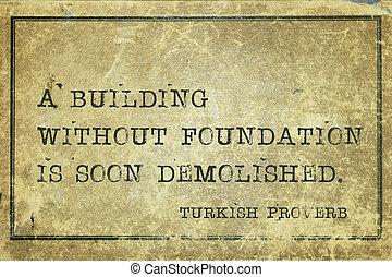 fundación, sin, turco