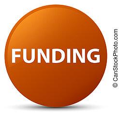 Funding brown round button