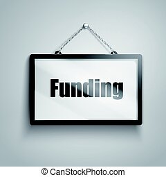 funding text sign