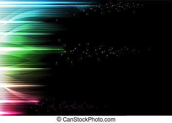 fundo, abstratos, -, luminoso, chuva
