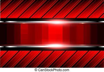 fundo, abstratos, vermelho