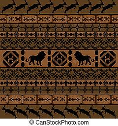 fundo, arabescos, africano