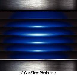fundo, azul, abstratos
