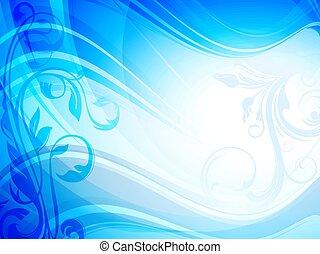 fundo, azul