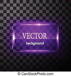 fundo, botão, editable, vidro, vetorial, fácil, plane.