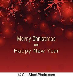 fundo, cartão natal