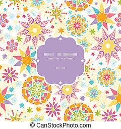 fundo, coloridos, padrão, quadro, seamless, estrelas, natal