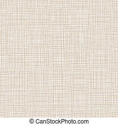fundo, com, fios, natural, linen., vetorial, ilustração