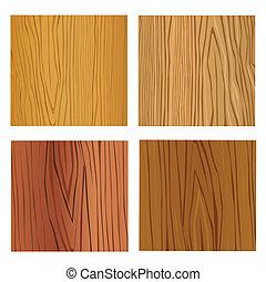 fundo, de, grão madeira