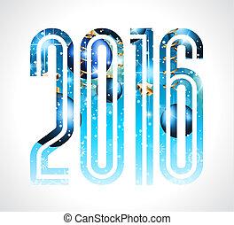 fundo, feliz, ano, novo, 2016, natal, feliz