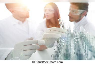fundo, imagem, é, um, grupo, de, cientistas, estudar, a, líquido, em