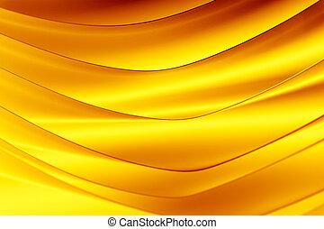 fundo, macro, imagem, de, um, padrão, feito, de, curvado, folhas papel, em, amarela, e, laranja, cor, tones.
