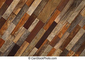 fundo, madeira, diferente, textura