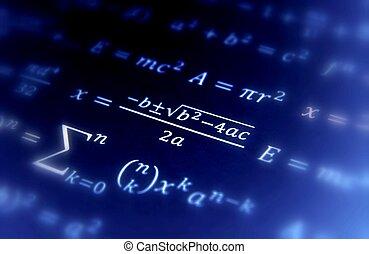 fundo, matemática, geometria