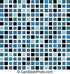 fundo, mosaico