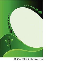 fundo, negócio verde