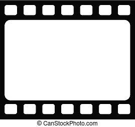 fundo, quadro, seamless, retro, modelo, em branco, tranitional, película
