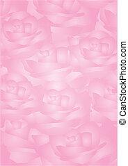 fundo, rosas cor-de-rosa