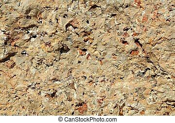 fundo, textura, de, pedra calcária, pedra, superfície