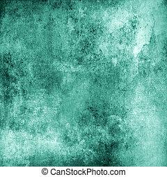 fundo, turquesa, grunge, abstratos, textura