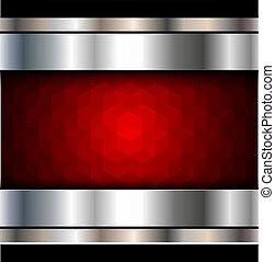 fundo, vermelho, mosaico