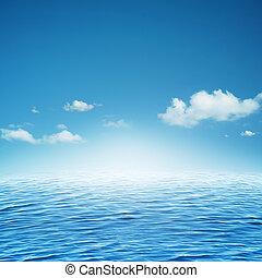 fundos, abstratos,  natural, oceânicos, céu