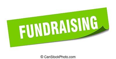 fundraising., hámozókés, cégtábla., sticker., derékszögben, ...