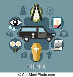 Funeral Concept Set